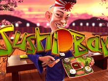 Виртуальный игровой автомат Суши-Бар с выводом на счет